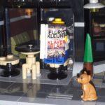 Klaverblad op een terrasje in Legoland (close-up)